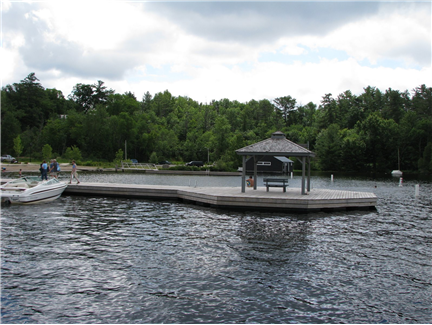 Rosseau Waterfront Gazebo