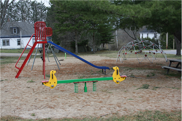 The Village Green in Orrville playground