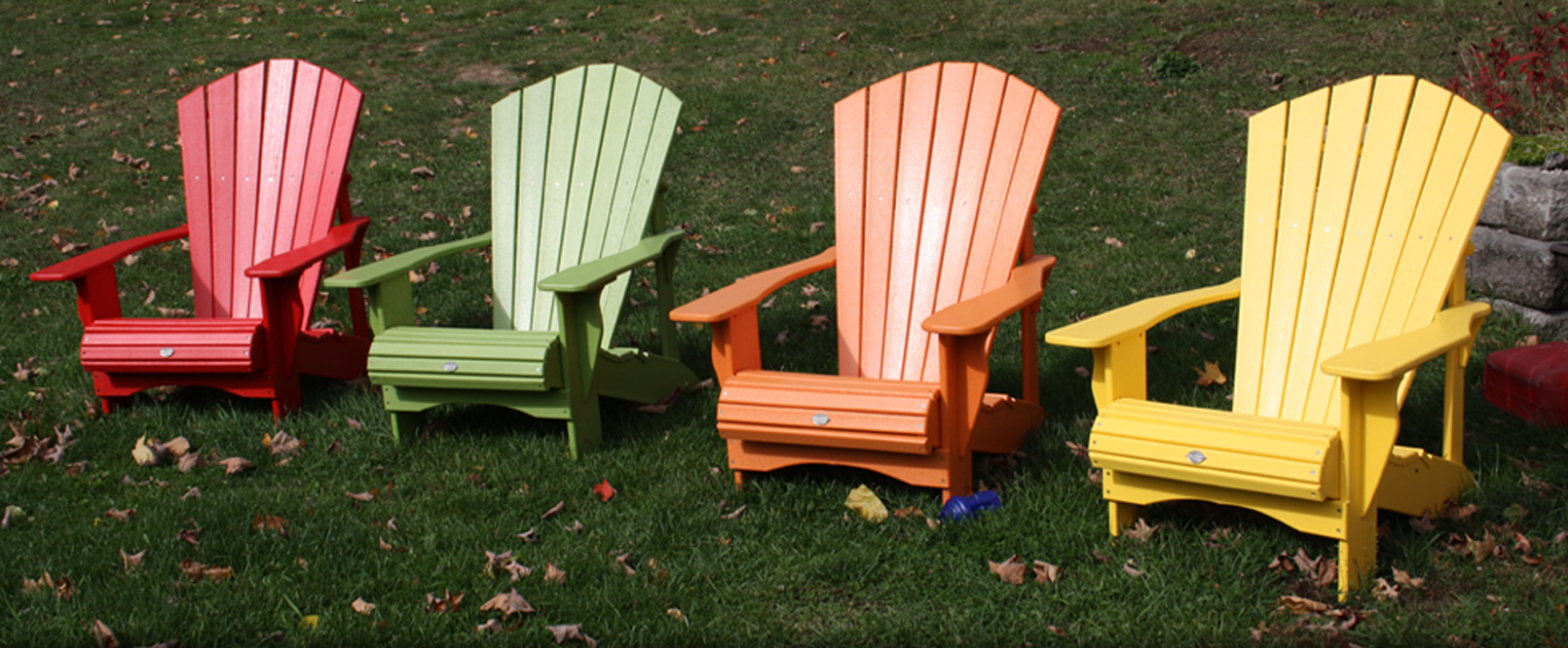 Image of Muskoka Chairs on a dock