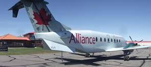 Alliance airplane sideview